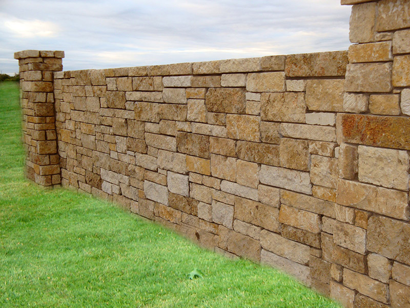Highest Quality Fencing Custom Masonry Fencecrete